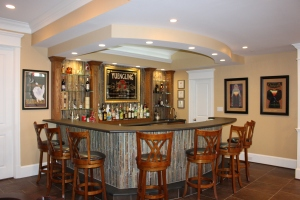 Custom Bar Design and Construction